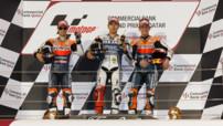Podium GP du Qatar2012