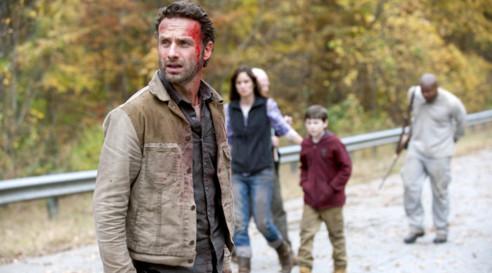 The Walking Dead - Près du feu mourant