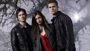 Ian Somerhalder, Nina Dobrev,Paul Wesley 