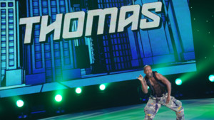 Danse solo de Thomas